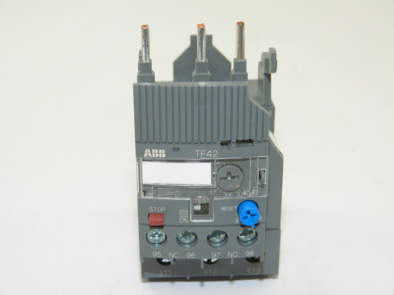 ABB TF42-4.2 Thermal Overload Relay 3.1-4.2a NEW 1yr Warranty