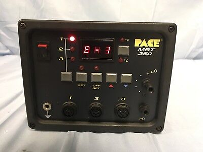 Pace Mbt250 Soldering  Desoldering   Rework Tip  Temp Power Supply