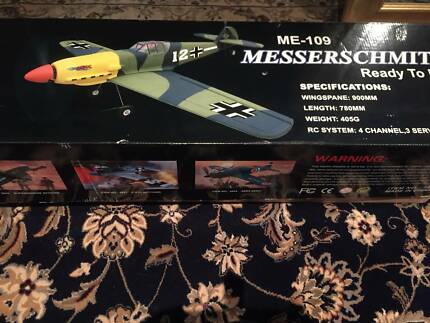 Remote Control 4 Channel Messerschmitt Me-109 Mustang Airplane