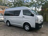 Toyota Hiace camper van with conversion 2.0 petrol auto 34000 miles in stock now