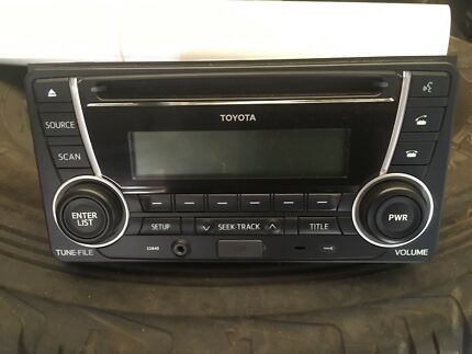 Toyota bluetooth CD head unit