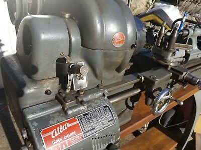 Vintage Collectible Atlas Craftsman Lathe Qc 42 Beautiful American History Piece