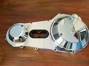 Harley Chopper Pro-One Billet polished chrome outer primary 89-06