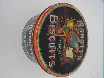 Original Arnott's Biscuit Tin + 2 others Arundel Gold Coast City Preview