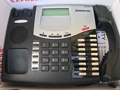 Mitel 8662 Axxess 550.8662P VOIP IP Phone BLACK Inter-Tel Renewed