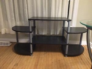 Black/grey tv stand