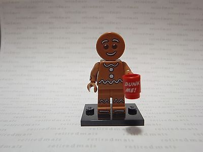 LEGO 71002 Minifigure Series #11 GINGERBREAD MAN Dunk Me Mug Christmas Minifig