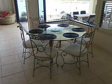 Dining Table  Iron & Glass Helensvale Gold Coast North Preview