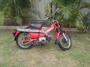 Postie bike Honda CT110 Dysart Isaac Area Preview