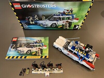 LEGO 21108 Ghostbusters Ecto-1 Car Wagon 100% Complete Excellent Condition Ideas