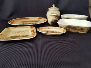 Robert Gordon - Pottery Trout Set - 7 Piece Richmond Hawkesbury Area Preview