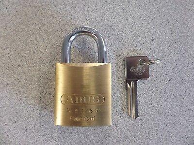 Abus 8345-100 Yale 8 Y1 Keyway Rekeyable Brass Padlock