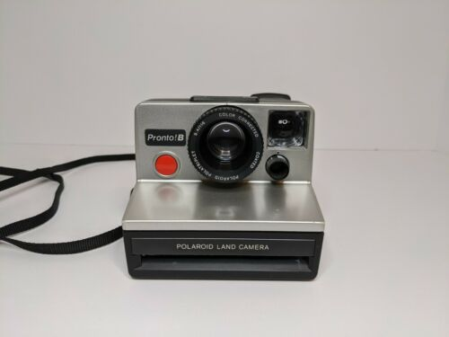 Vintage Polaroid Pronto B Instant Film Flash Land Camera - Untested
