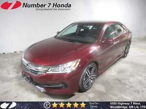 2016 Honda Accord Touring| Loaded Options, Leather, Navi!