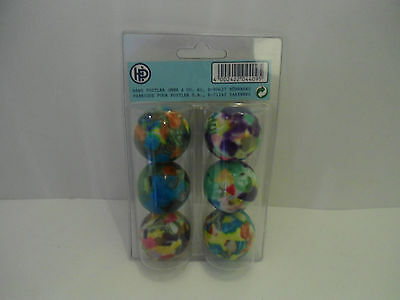 Tischtennisbälle  6 Bälle bunt