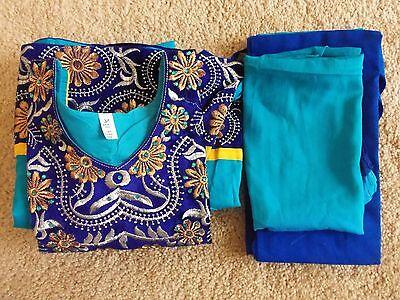 Indian Bollywood Kurta Kurti Designer Girls Ethnic Dress Top Tunic Pakistani New