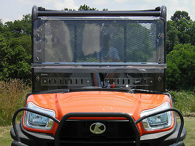 Kubota RTV X-Series 900 2 Pc Vented Windshield-BETTER-FREE SHIPPING!