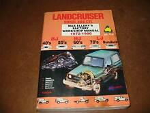 LANDCRUISER HJ Diesel Service MANUAL Sylvania Sutherland Area Preview