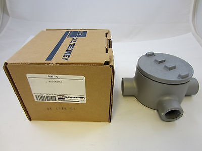 Ozgedney Guat75 34 Explosion Proof Type Gua Outlet Box Grt75 Guat26