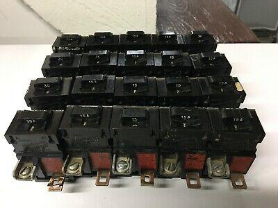 20 Bulldog Pushmatic 15a 20a 30a Circuit Breakers