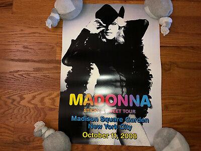 Usado, Madonna New York Limited Edition Lithograph Poster Concert Sticky & Sweet Tour  comprar usado  Enviando para Brazil