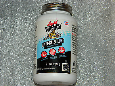 1 Brand New 8 Oz Bottle Liquid Wrench L808 Anti-seize Lube Lubricant Usa Made