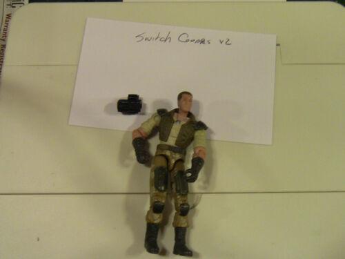 GI Joe Action Figure 2004 Switch Gears v2