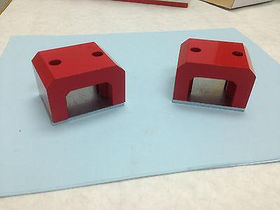 Horseshoe Magnet-51-lb. Capacity E-814 2-pack