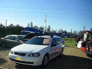 2005 Ford Falcon Wagon BA MKII XT Auto Very Low kms Hand Controls Orange Orange Area Preview