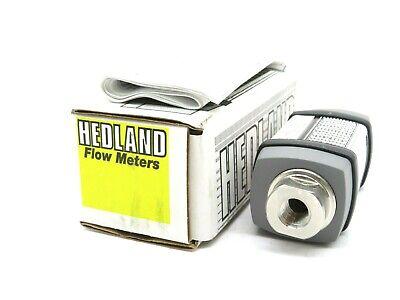 New Hedland H237x-020 Flow Meter 1500 Psi 103 Bars Max H237x020