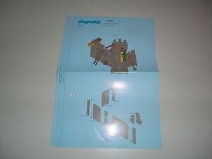 PLAYMOBIL-MANUAL-DE-INSTRUCCIONES-Burg-burgverteidigung-CASTILLO-DEL-CABALLERO