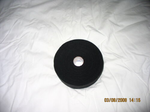 """BLACK MEDICAL TAPE  12 rolls  1""""x30yds.  * FIRST QUALITY *"""