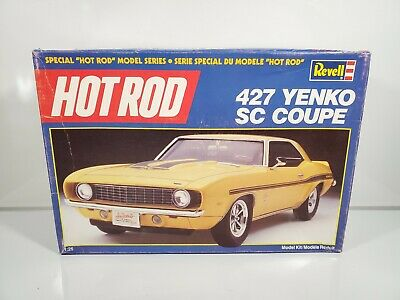 REVELL HOT ROD 427 YENKO SC COUPE 1/25 MODEL KIT UNBUILT W/ BOX 7132