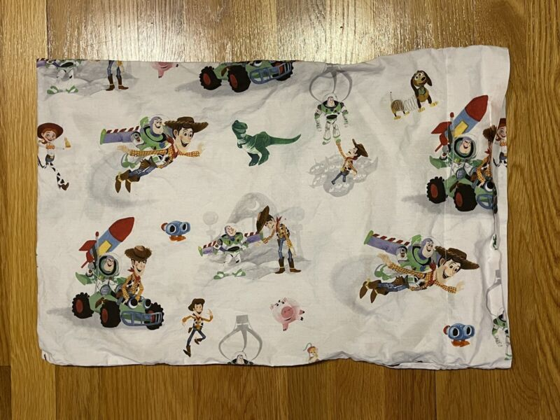 Pottery Barn Disney and Pixar Toy Story Organic Toddler Pillow Case