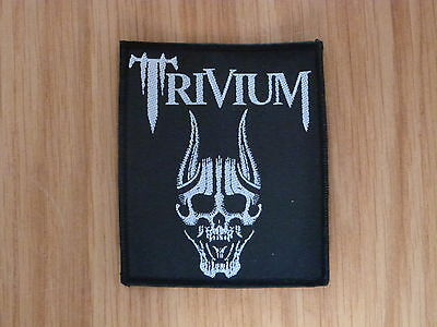 TRIVIUM - SCREAMING SKULL (NEW) SEW ON W-PATCH OFFICIAL BAND MERCHANDISE