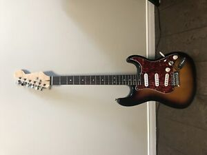 Squire Stratocaster (with upgrades)
