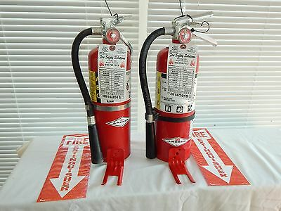Fire Extinguisher - 5lb Abc Dry Chemical - Lot Of 3 Nice