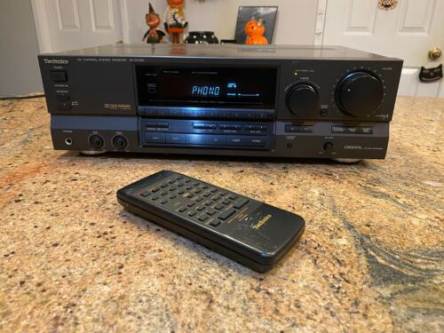 Technics SA-GX330 Stereo Receiver w/Magnetic Phono Input