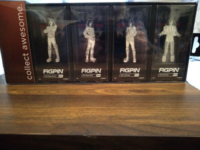 KISS Love Gun / Double Platinum 4 PieceBox Set walmart exclusive FIGPIN