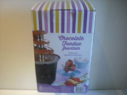 CHOCOLATE FOUNTAIN. NEW IN BOX.With manual