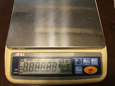 Ad Ek-2000g Precision Balance Scale Used - Working - Accurate