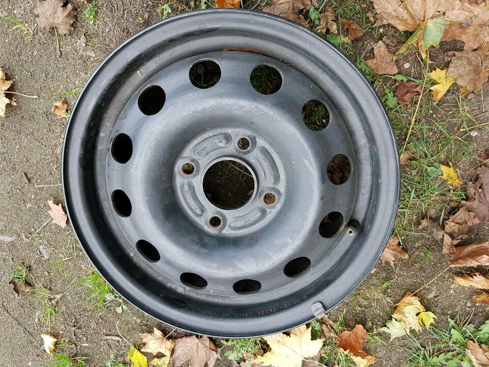 1Satz Stahlfelge Ford 5 1/2 J X 14 CH / ET 47,5 Vier Loch in Rethemer