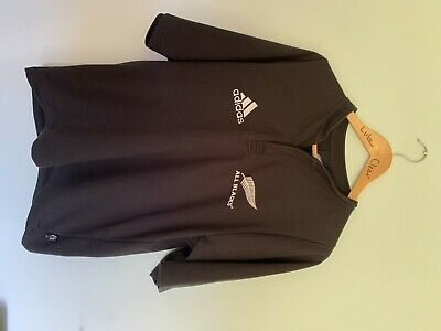 Adidas All Blacks New Zealand Rugby Shirt  Climacool Size L
