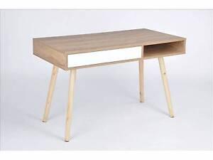 BRAND NEW Retro Style Single Drawer Desk Study Desk Computer Desk Klemzig Port Adelaide Area Preview