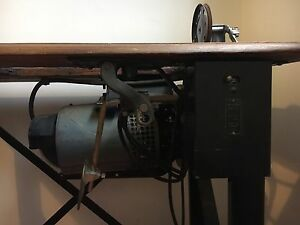 Industrial Singer Sewing Machine Sydenham Marrickville Area Preview