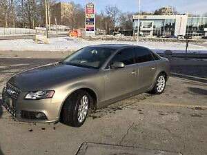 2011 Audi A4 2.0 Turbo AWD, leather, backup Cam