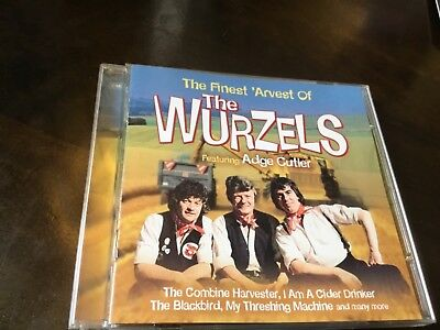 The Wurzels   Finest  Arvest   Greatest Hits Cd   The Combine Harvester
