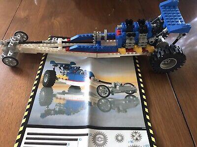 Rare Lego Expert Builder Set 8847 Dragster