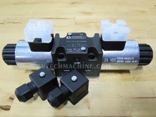 Duplomatic Hydraulic Solenoid Valve DS3-S3-11N-D24K1
