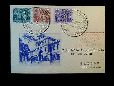 VIETNAM First Day Cover Stamps Scott 36-38